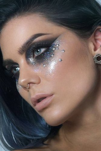 6 Fairy Christmas Makeup Ideas