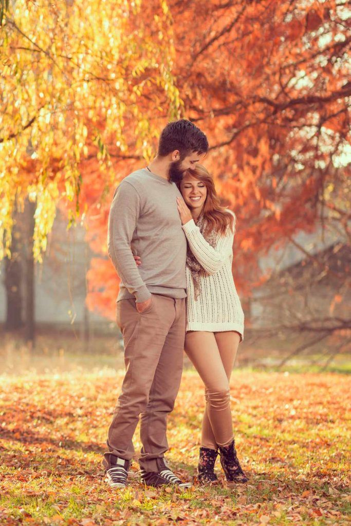 Romantic Fall Photo