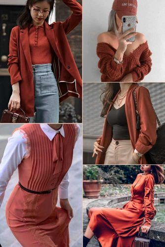 Coppertone Color Trend #outfit #fashion