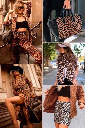 Leopard Print Color Trend #outfit #fashion