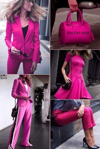 Bubblegum Pink Color Trend #outfit #fashion