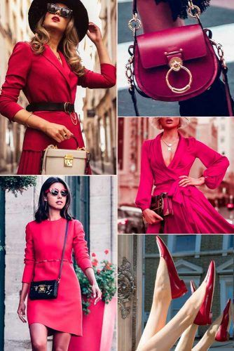 Scarlet Fever Color Trend #outfit #fashion