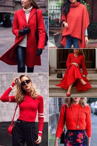 Rust Color Trend #outfit #fashion