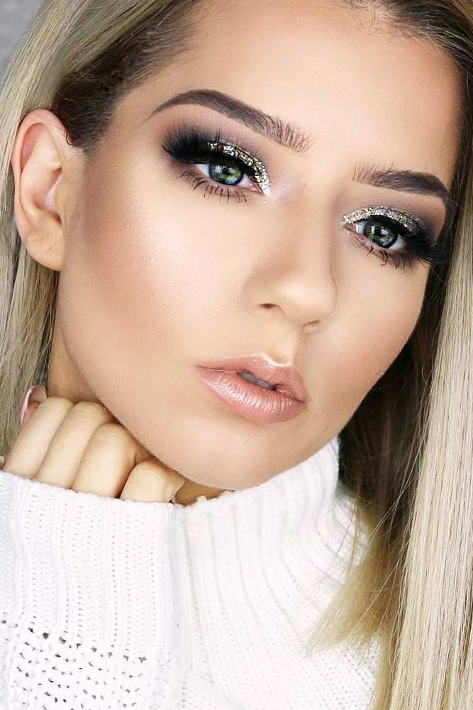 Cute Christmas Makeup picture 1