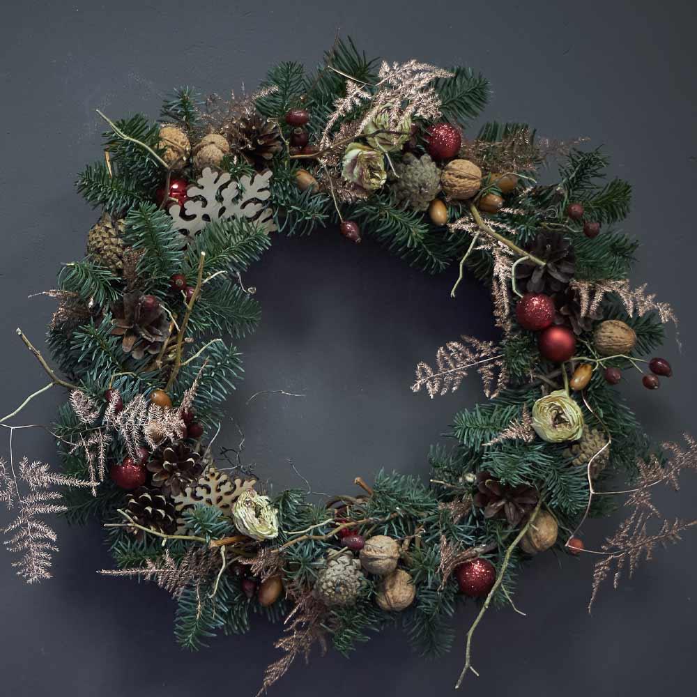 Beautiful Christmas Wreath Decor