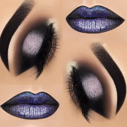 Popular Glitter Makeup Ideas to Rock the Party picture 4