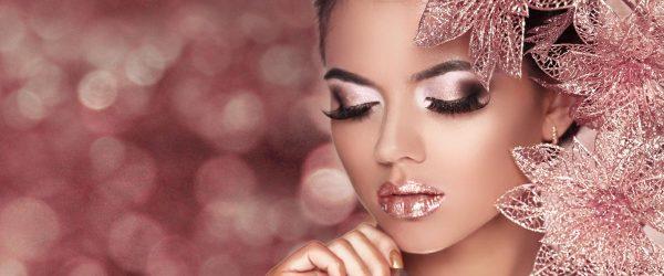 36 Amazing Glitter Christmas Makeup Ideas
