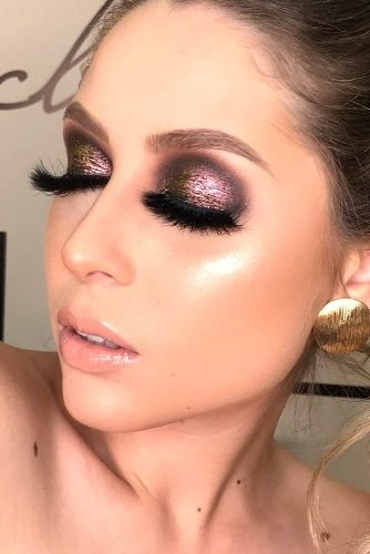 Newest Glitter Makeup Looks picture 5