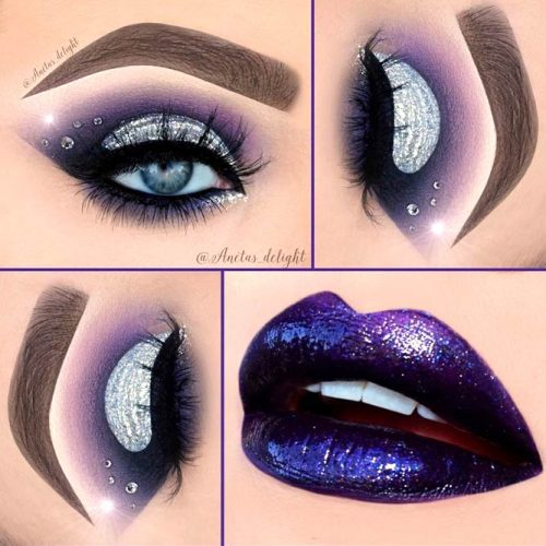 Popular Glitter Makeup Ideas to Rock the Party picture 6
