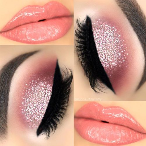 Popular Glitter Makeup Ideas to Rock the Party picture 2