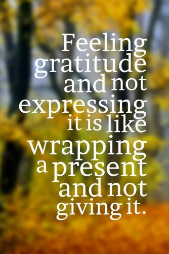 Thanksgiving Inspirational Quotes | 27 Inspirational Thanksgiving Quotes