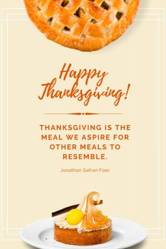 Jonathan Safran Foer Thanksgiving Quote  #quotes #thanksgiving