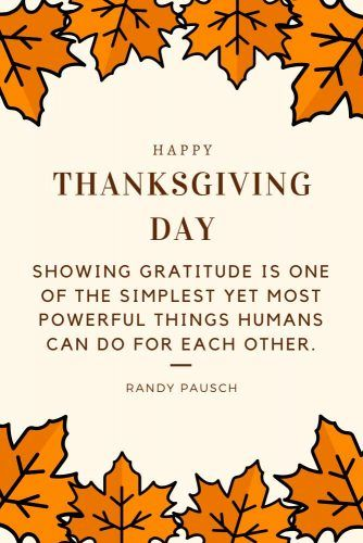 Randy Pausch Thanksgiving Quotes #quotes #thanksgiving