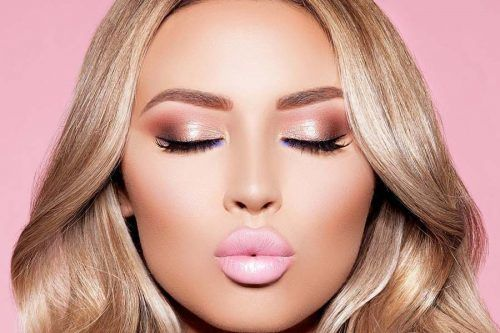 Top Rose Gold Makeup Ideas To Look Like A Goddess