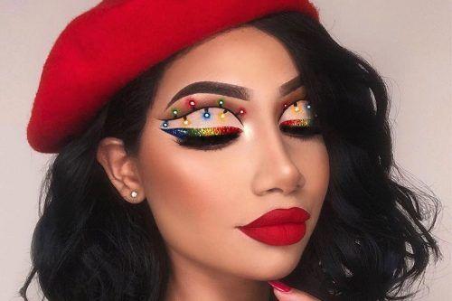 Festive Christmas Makeup Ideas