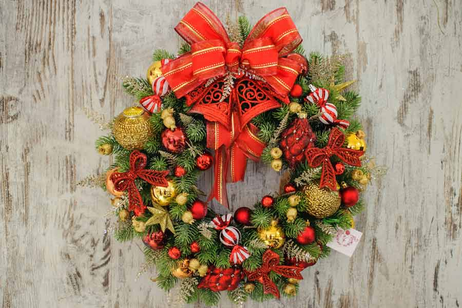 Most Festive Christmas Wreaths