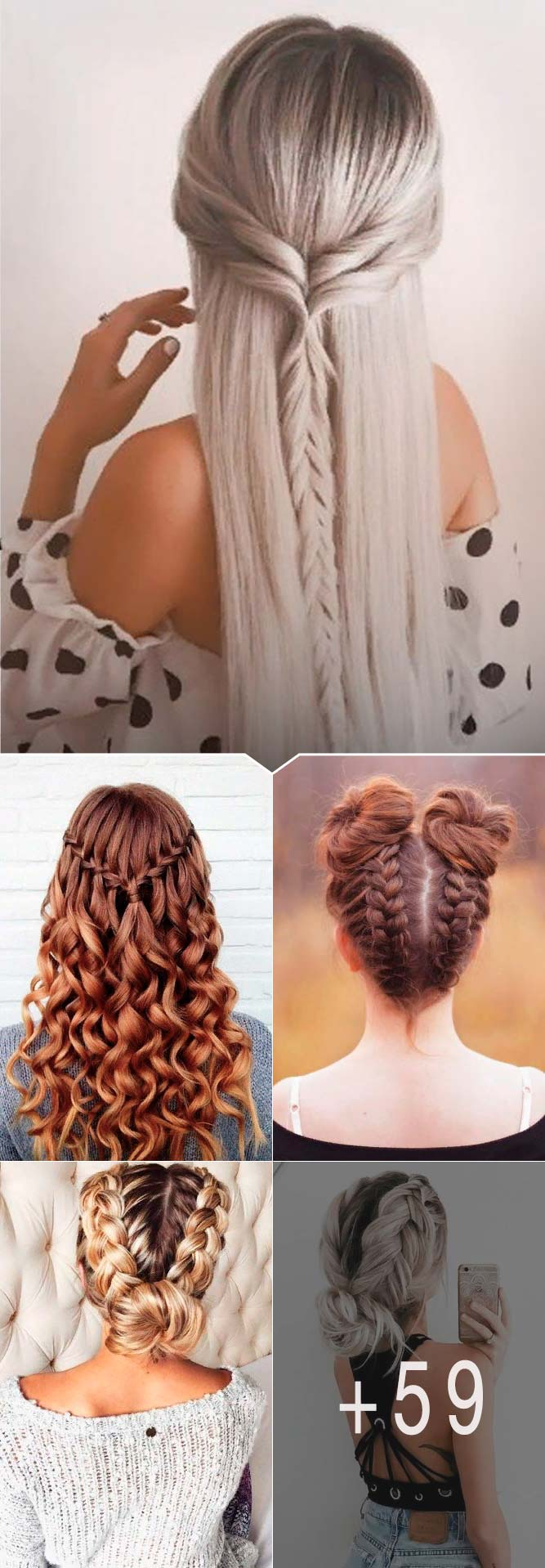 Amazing Braid Hairstyles for Party and Holidays