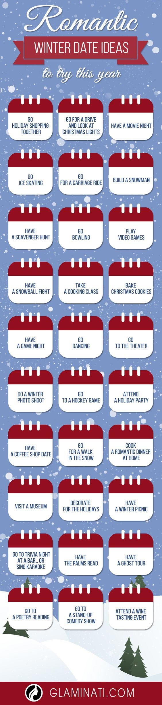 Winter Date Ideas To Try This Year