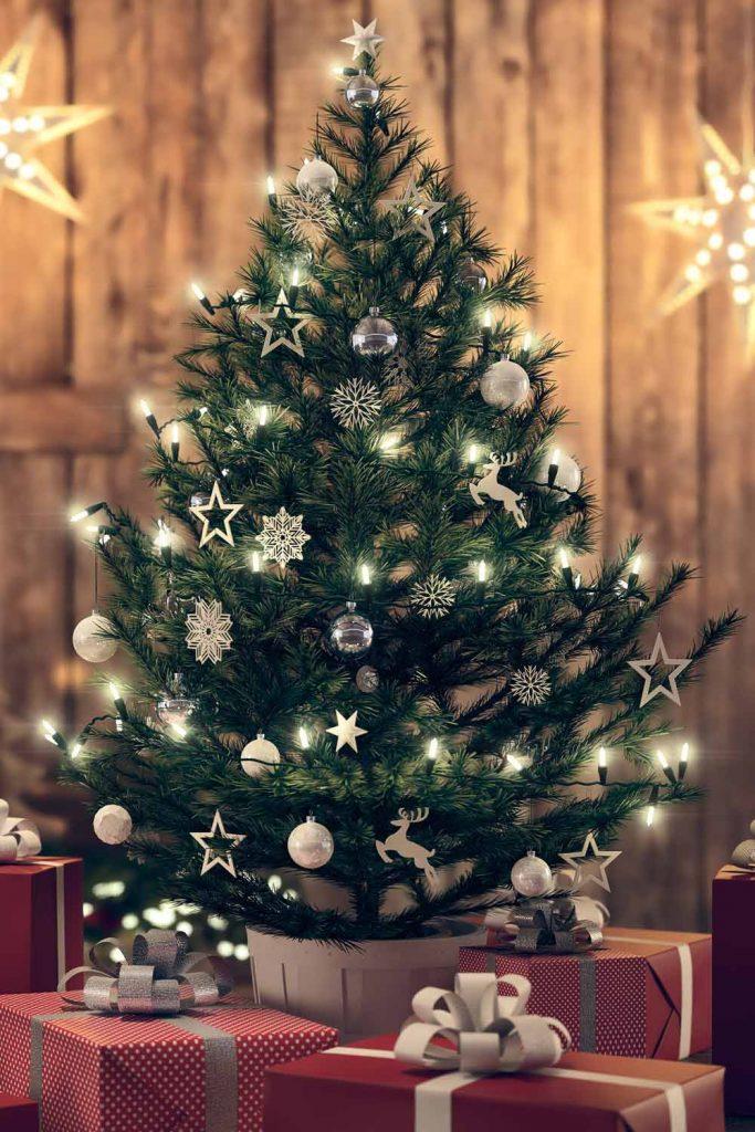 Small Christmas Tree Decor
