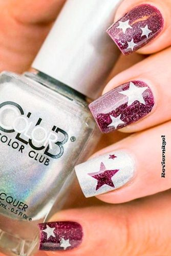 Best DIY Star Holiday Nails
