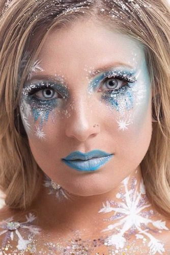 Amazing Fairy Christmas Makeup picture 3