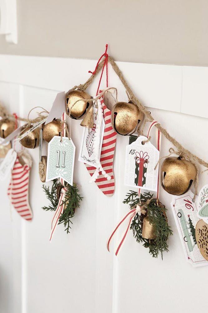 Bells Christmas Garland #papersocks #bells