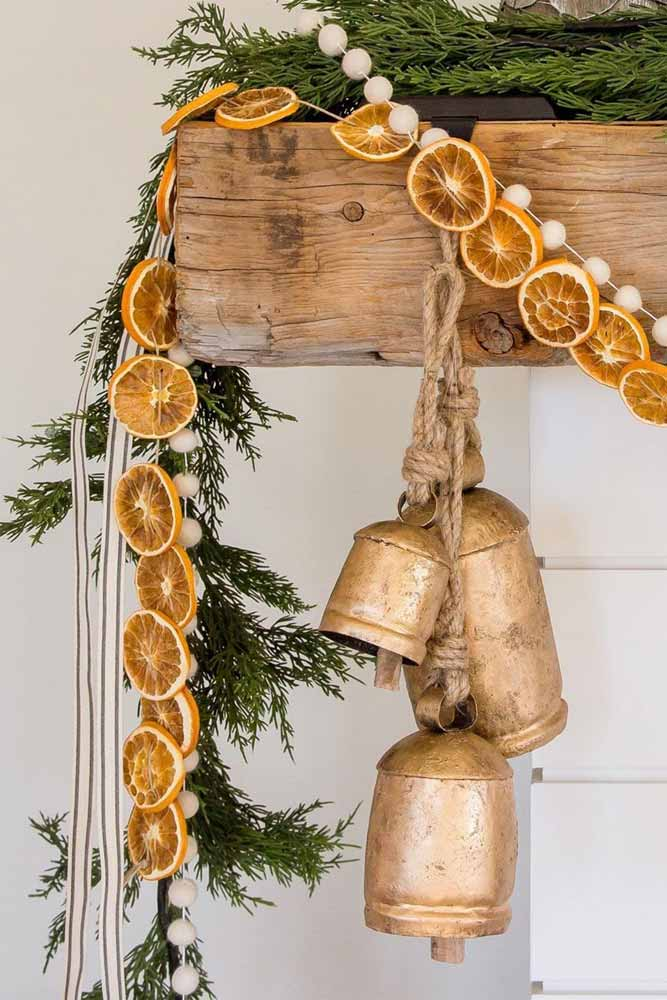 Citrus Christmas Garland #citrusgarland