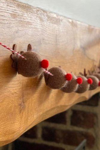Reindeer Garland Design #reindeer