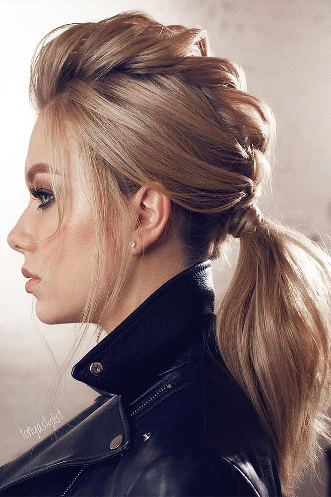 Braided Ponytail Ideas for This Winter Picture 3