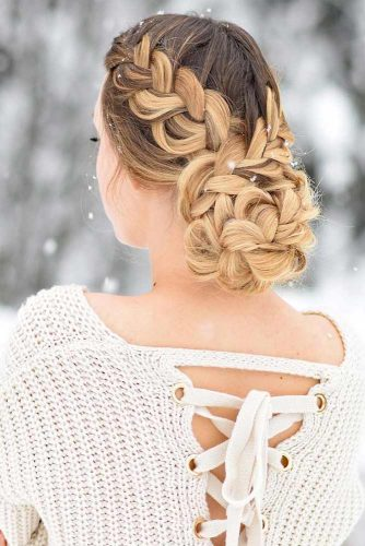 Braided Updo Hairstyles Picture 2