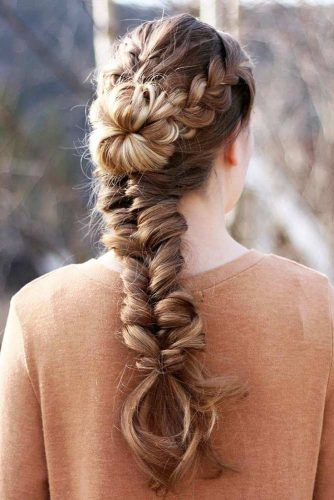 Fishtail Hairstyle Ideas for Christmas Picture 2