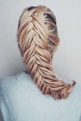 Fishtail Hairstyle Ideas for Christmas Picture 3