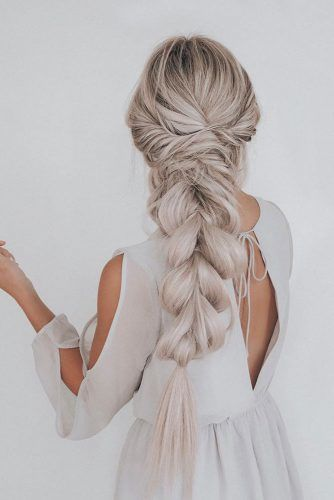 Voluminous Twisted Braid #braids