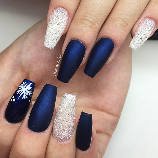 Christmas Nails Patterns for Beautiful Holiday Look Picture 4