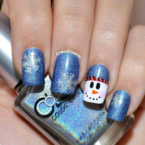 Christmas Nails Patterns for Beautiful Holiday Look Picture 3