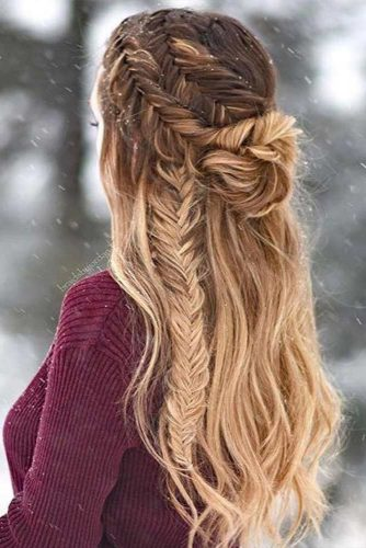 Winter Hairstyles Ideas for Long Hair Picture 3