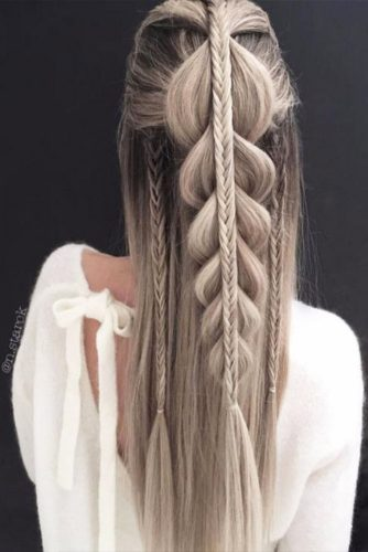 Winter Hairstyles Ideas for Long Hair Picture 1
