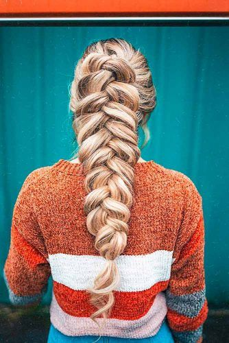 Simple Voluminous Braid #braids #voluminousbraid