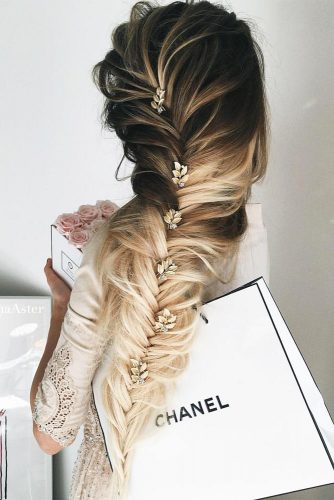 Messy and Sleek Bobby Pin Hairstyles picture1