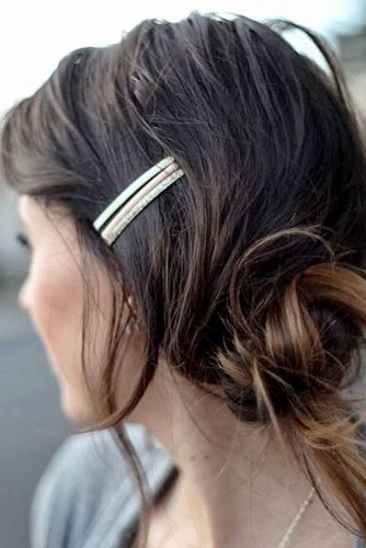 Messy and Sleek Bobby Pin Hairstyles picture4