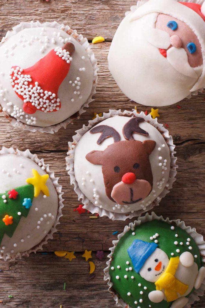 Christmas Cupcake Decoration Ideas