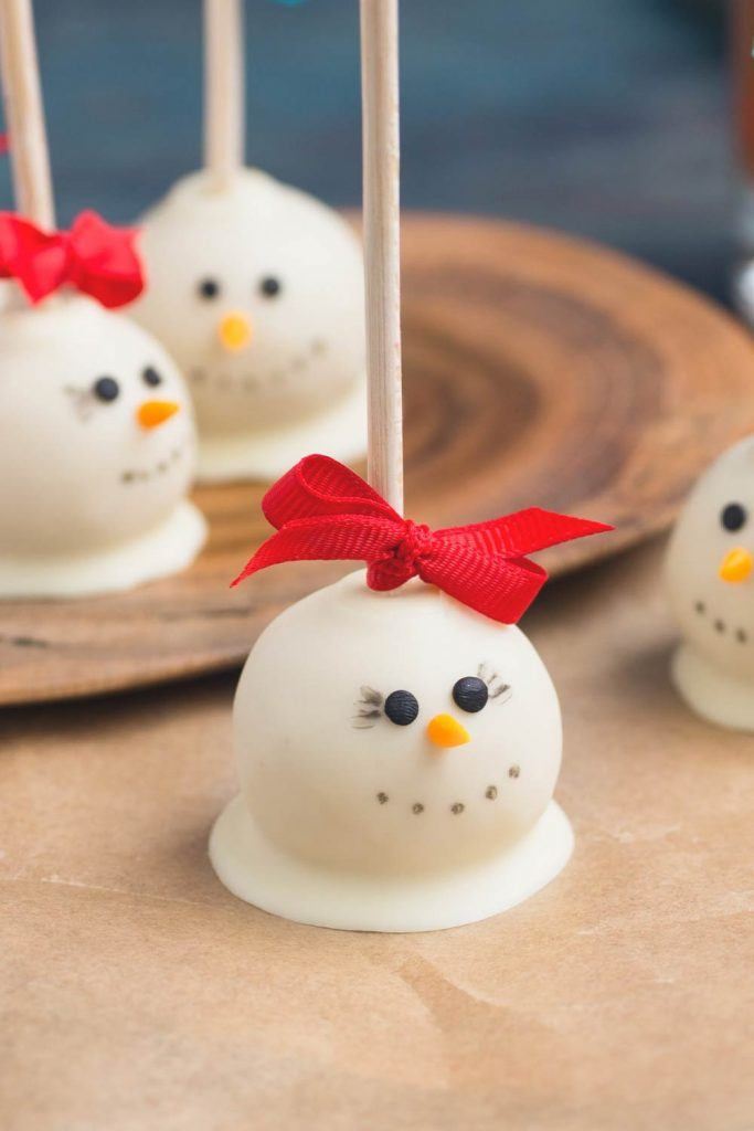 Snowman Candies for Christmas