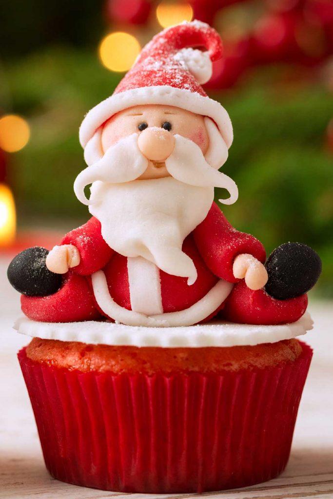 Santa Claus Capcake
