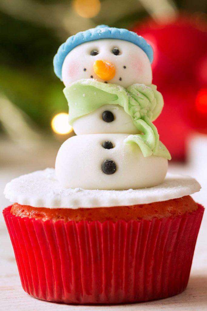 Christmas Cupcake Idea