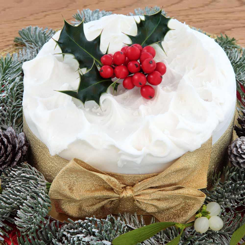 Classy Christmas Cake Idea