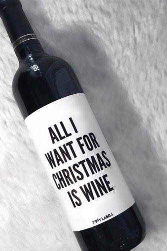 Wine Gift Idea #wine #printablegift