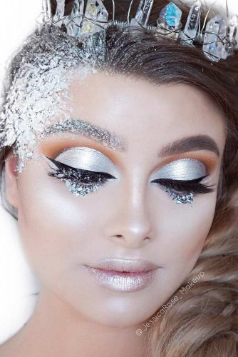 Amazing Fairy Christmas Makeup picture 2