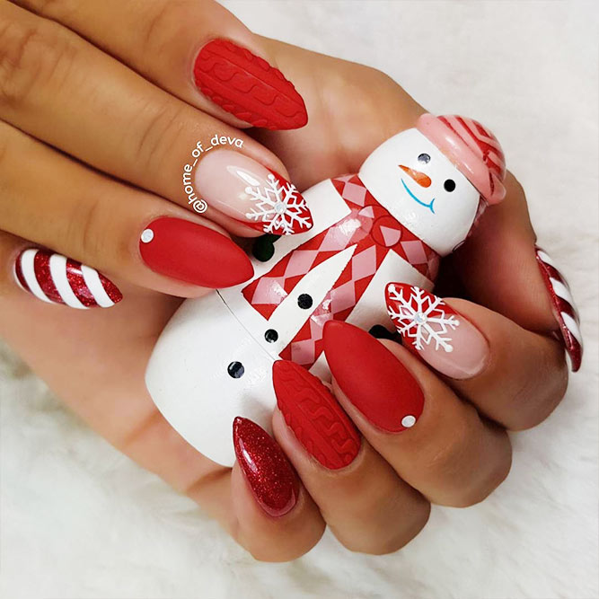 Fantastic Christmas Nails Picture 1