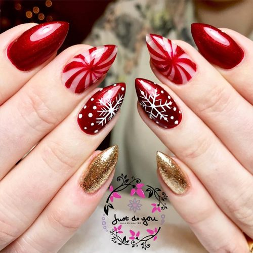 Fantastic Christmas Nails Picture 2
