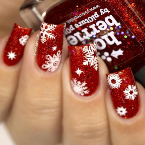 Fantastic Christmas Nails Picture 3